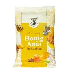 GEPA Bio Honig Anis BONBONS - 1 Karton ( 12 x 100g )