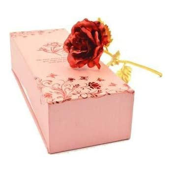 24K Gold Rose with Gift Box For Loved Ones