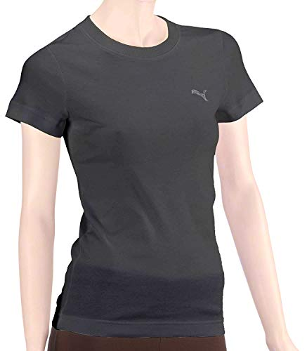 PUMA Damen T-Shirt ESL Tee, Black, S