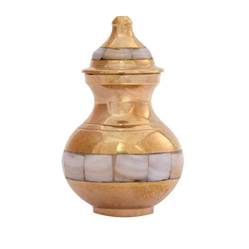 funéraires Urns pour cendres humain, excellente pointu Nacre Mini Urne funéraire souvenir