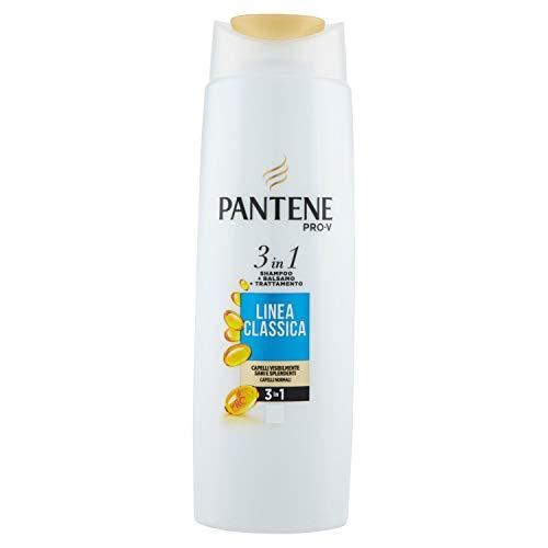 Pantene Pro-V Linea Classica 3In1 Shampoo + Balsamo + Trattamento 225 Ml, con Nutrienti