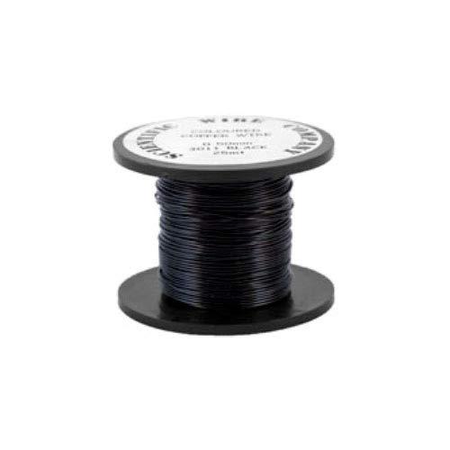 Cuivre Fil Noir Plaqué 15M Rouleau 0.5mm Épais