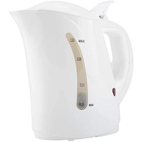 Waterkoker, 12 / 24V auto-1L waterkoker auto Abschaltwasser koffie verwarming fornuis,White