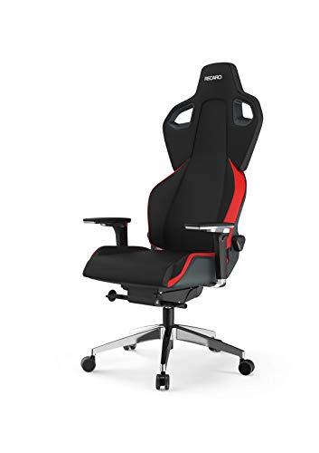 RECARO EXO FX Gaming Chair - ergonomischer, höhenverstellbarer Gaming Seat der Extraklasse - Lava Red
