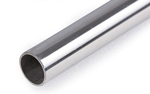 wellenshop Edelstahlrohr 1,50 m Länge. Durchmesser 22 mm. Biegefähig geglüht.