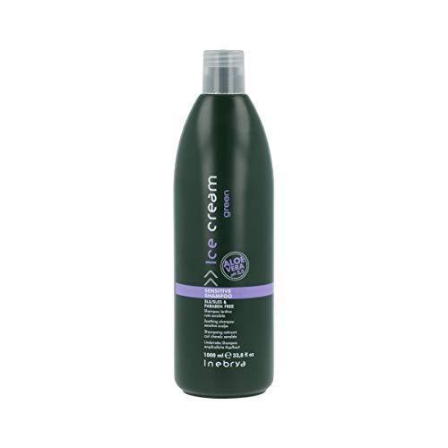 Inebrya Ice Cream Soothing Shampoo for Sensitive Scalps with Natural Aloe Vera 33.8 Oz by Ice Cream by Inebrya