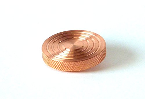 THE FLATTOP - COPPER HANDMADE EDC SPINNING TOP - MADE IN THE USA - Gifts for Men