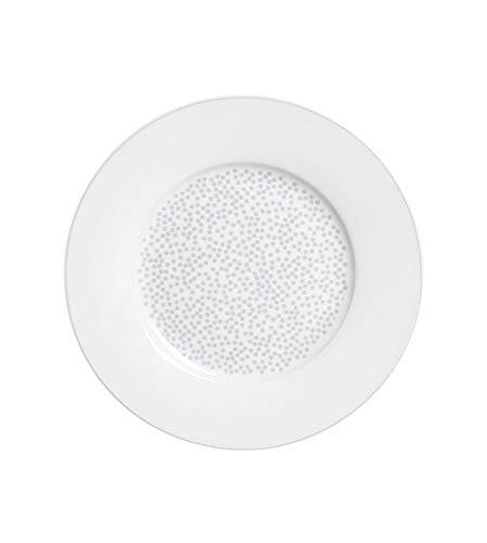 Krasilnikoff - Teller - Stardust - weiß - Porzellan - Ø20 cm