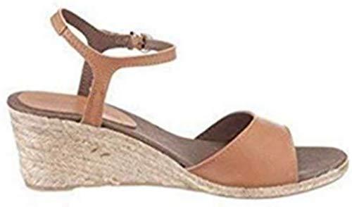 Eddie Bauer Sandale Damen aus Leder Braun Gr. 40