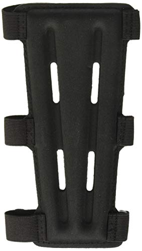 SAS 8' Armguard Archery Bow Range with 3-Strap Buckles (Black)