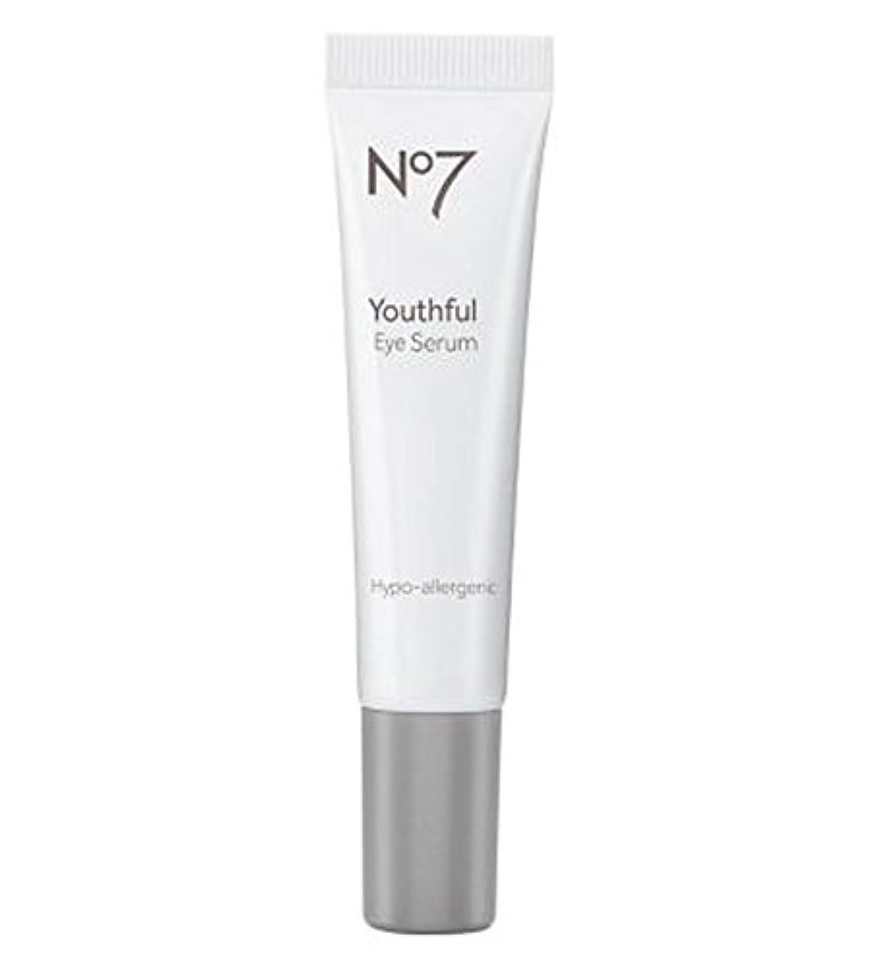 気性のためにカルシウムNo7 Youthful Eye Serum - No7若々しい目の血清 (No7) [並行輸入品]