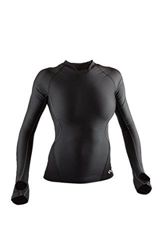 McDavid 8818Damen Recovery Max ™ Long Sleeve Shirt, Damen, MD8818, schwarz, Medium