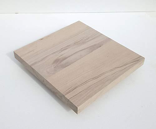 1 Massivholzplatte Kernbuche 29mm stark. Holzplatte Bretter Leisten Sondermaße. (600x400x29mm stark.)
