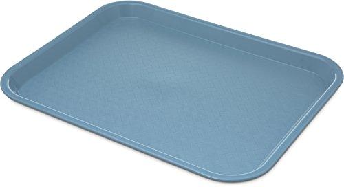 Carlisle CT101459 Café Standard Cafeteria / Fast Food Tray, 10' x 14', Slate Blue