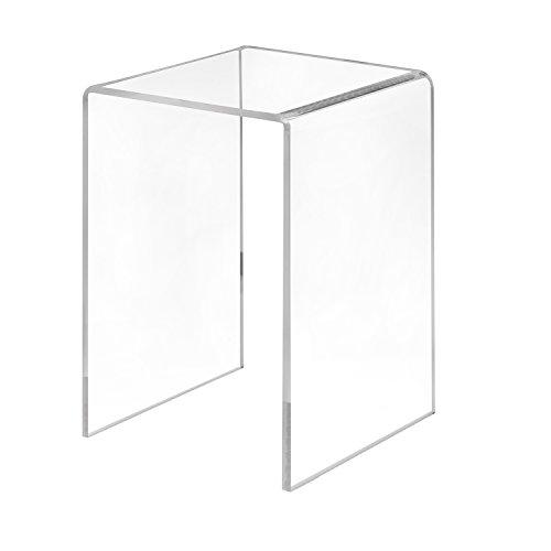 Zeigis Dekobrücke 100x150x100mm aus transparentem Acrylglas/PMMA/U-Ständer