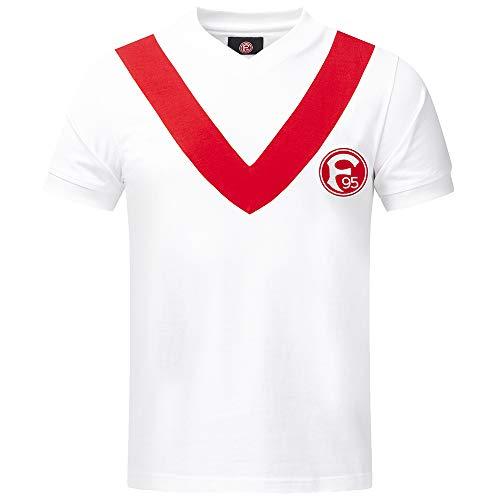 "Fortuna Düsseldorf Retrotrikot 1965"" weiß (XXL)"