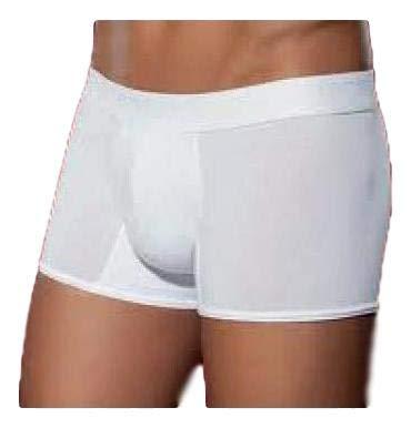 PEROFIL Boxer 4SEASONS Short Push UP Basic 24182 LINTEA (5-L, Bianco)