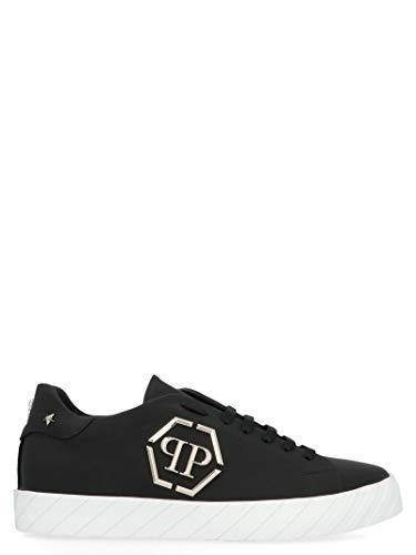 Luxury Fashion | Philipp Plein Heren MSC2646PLE008N02 Zwart Leer Sneakers | Lente-zomer 20
