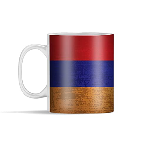 Tasse - Eine Illustration einer Flagge von Armenien - 350 ml