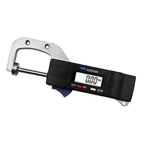 HomeDecTime Medidores de Espesor de Revestimiento para Chapa 0-25 mm
