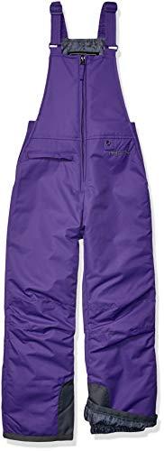 Arctix Youth Insulated Snow Bib Overalls, Purple, X-Small/Regular