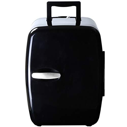 JTYP Auto nach Hause Dual-Use-Mini-Kühlschrank 14L Out Portable Hot and Cold Box (Color : Black)