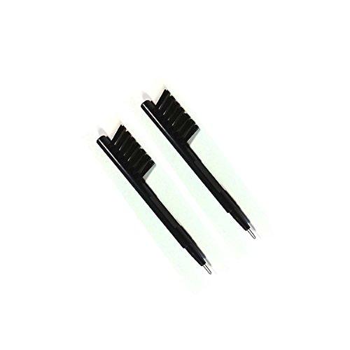 hiibaby® 2PC Brand New Multifunktions-Hörgerät Reinigung Pinsel Kit mit Wachs Loop & Akku Magnet