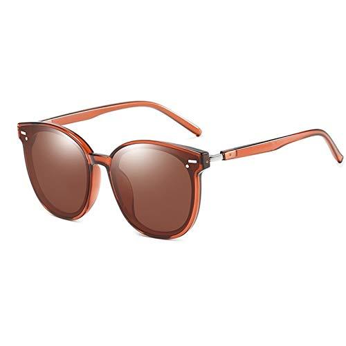 XYJNN Blue Light Glasses  Gafas de Sol  Polarizador Manera Coreana de la UV Gafas de Sol Gafas de Sol de protección Bisagras de Metal cómodas Almohadillas de la Nariz curvados Templos (sin Grado)