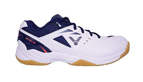 VICTOR Unisex SH-A181 Badminton-Schuh, Weiß/Blau, 44 EU