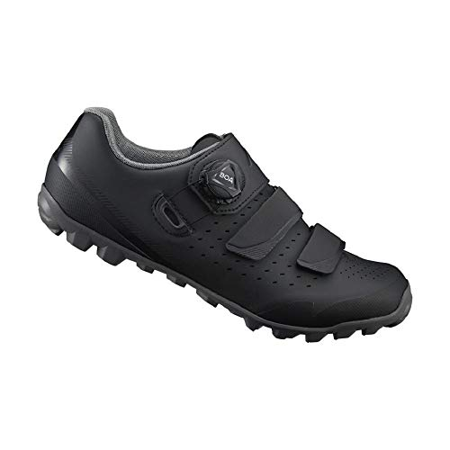 SHIMANO SH-ME400 LSG Series High-Performance Enduro; All Mountain; Off-Road; Trail Cycling Women's Bicycle Shoes; Black; 39