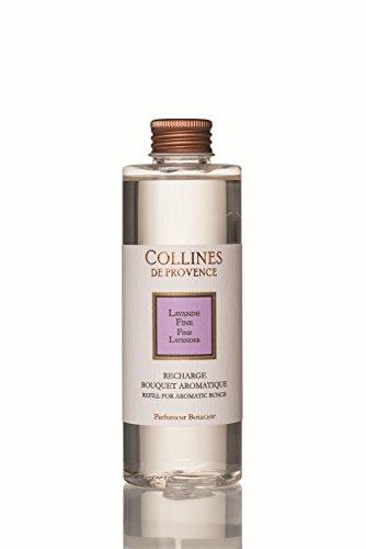 Collines de Provence - Nachfüllflasche für Duftbouquet/Duftdiffusor 'Feiner Lavendel' (Lavande Fine) 200 ml