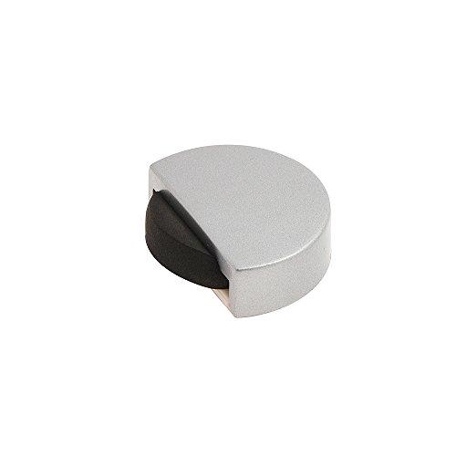 WOLFPACK 5320330–Fermaporta Adesivo, Silenzioso, Colore: Cromato Opaco