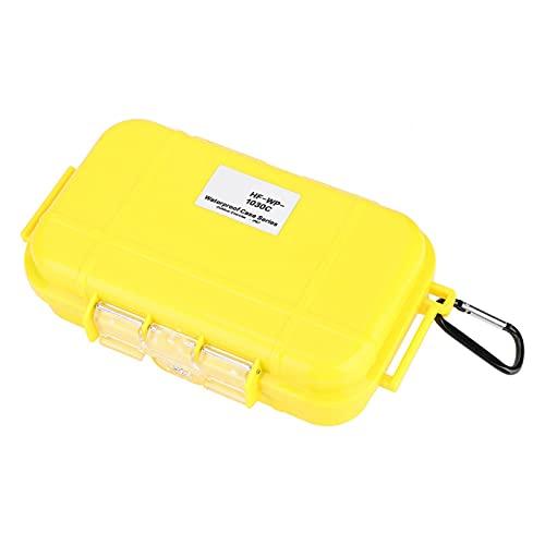 Eosnow Estuche de Almacenamiento Impermeable Ligero y Compacto, para Supervivencia al Aire Libre(Amarillo)