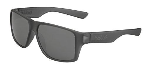 bollé Brecken Gafas, Unisex Adulto, Gris (Cristal Mate), L