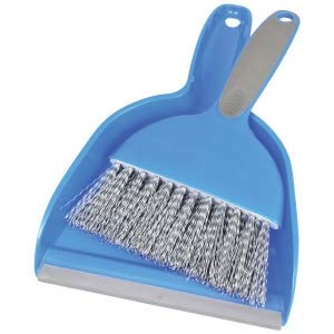 Small Dustpan and Brush Sets For Office and Home Desks, Tables, Kitchen Counters and Shelves Useful For Potting Table, Guinea Pig and Bird's Cage Clean Up