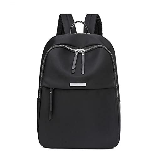 SUNXC Multifuncional Daypacks, Mochila de Negocios de 14 Pulgadas-Negra,Mochila de Ordenador portátil