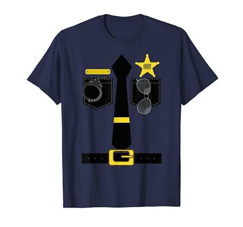CHP Disfraz de policía de la patrulla de la carretera de California Camiseta