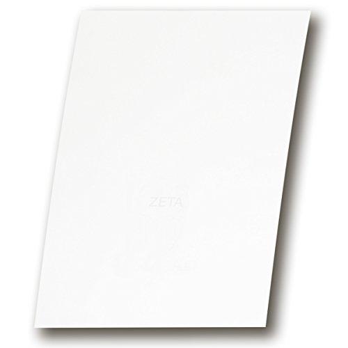 100 Stück - ZANDERS Zeta (GOHRSMÜHLE) Feinstpapier hadernhaltiges Papier mit Leinen-Struktur DIN A4 für hochwertige Dokumente Grammatur: 90 g/m²