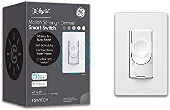 C by GE 4-Wire Motion Sensing Switch Dimmer for Smart Bulbs