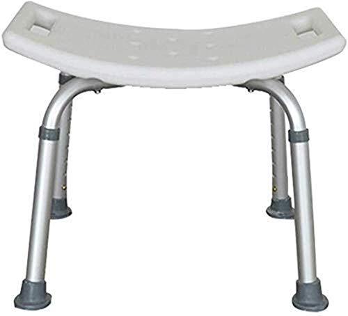 BBWYYQX Sgabello da Doccia Sedia da Doccia Sedia da Bagno Sedile da Doccia Sedile in Alluminio Leggero, Altezza Regolabile Capacità Di Trasporto per Donne in Gravidanza