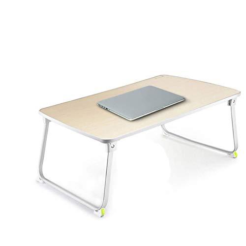Kleiner Tisch Studie Tisch Schreibtisch Multifunktionstisch Notebook-Computer-Schreibtisch Haushaltsmobil College Students Schreibtisch Schlafsaal einfacher faltbare Faule Arbeitstisch BBGSFDC