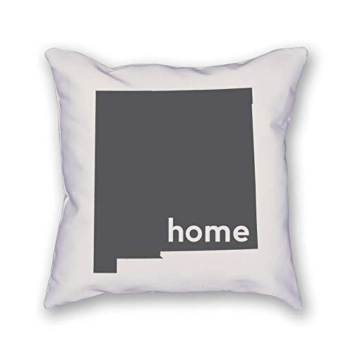 43LenaJon Fundas de almohada de lino y algodón para New Mexico Home