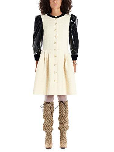 Gucci Luxury Fashion Donna 589996ZACKV9893 Bianco Vestito | Autunno Inverno 19