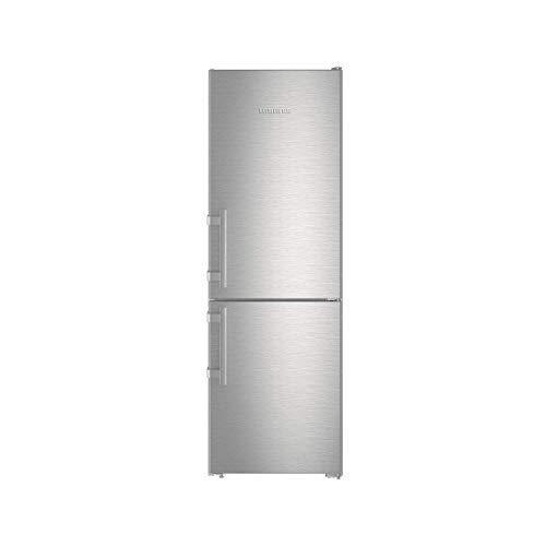 Liebherr CNEF 3515Comfort NoFrost Kühl-Gefrierkombination, freistehend, 308 l, A++, Silber (308l, frostfrei (Kühlschrank), SN-T, 11kg/24h, A++, silber)