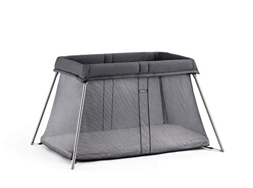 BABYBJORN Travel Crib Easy Go, Anthracite