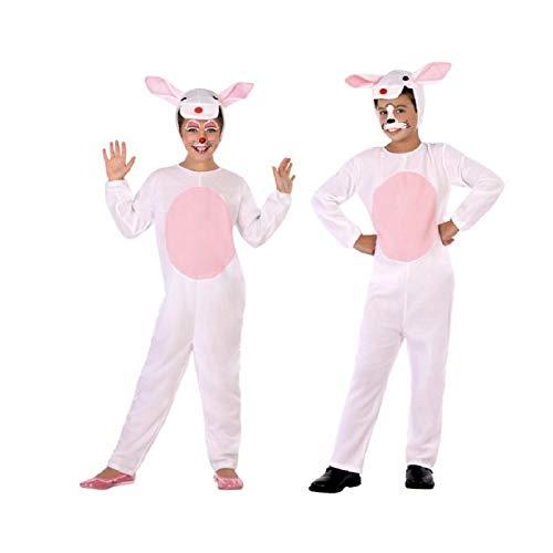 Atosa-95532 Disfraz Conejo, color rosa