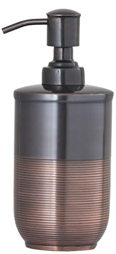 Gramercy Accents, Heavyweight Brass, Oil Rubbed Bronze Finish, Soap Dispenser Pump