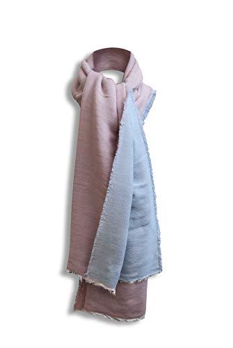 BERTONI Made in Italy grote sjaal plafondsjaal Pashmina - winter herfst sjaal voor dames en heren 11% alpaca & wol