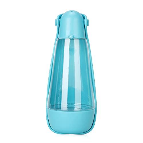 HDBD Biberón para Cachorros Botella de Agua portátil para Comida para Perros Viajar/Salir/Caminar Botella Plegable Tazón de Comida para Beber/Comer Dispensador al Aire Libre