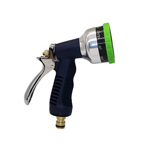 Jardín pistola de agua pistola de pulverización Car Wash Water Garden rociadores de jardín Accesorios PC 1 ajustable 9 Patrones pistola de agua de alta presión del arma de aerosol Manguera de jardín l
